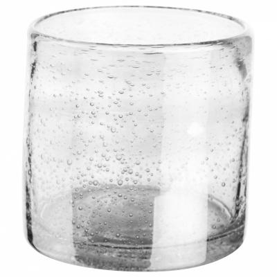 Teelichthalter Ø10cm transparent