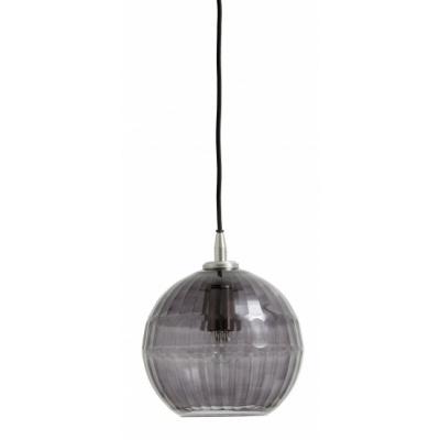 Nyx Hanglamp, Geslepen Glas, Rook