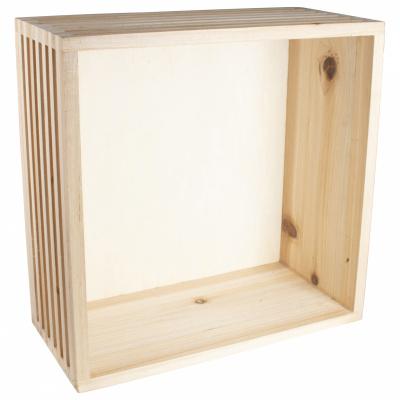 Holzwandregal 28x12 cm