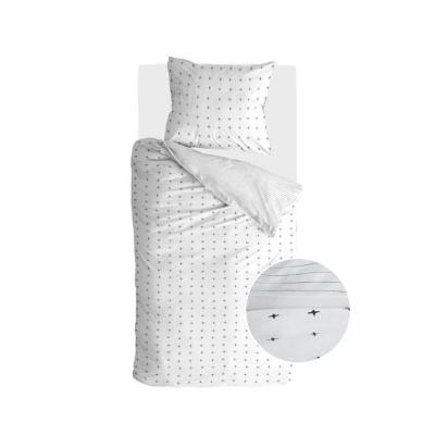 Bettbezug-Deckel ungerade Zwillinge weiß - 140x220 cm