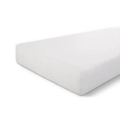 Montierte blatt knusprige baumwolle weiß - 180x200 cm