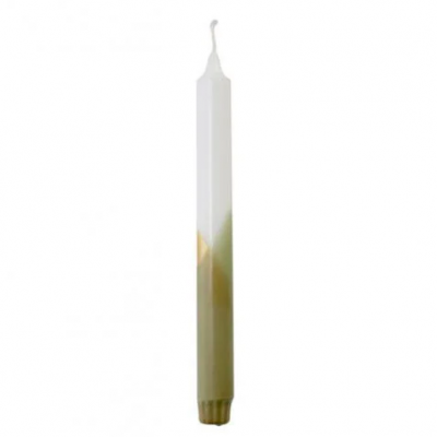 Dinner Candle CROSS - Sand