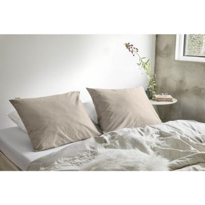 Kussensloop Crispy Cotton Zand - 60x70 cm