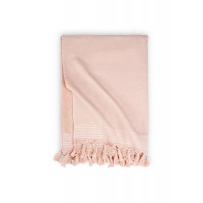 Hammam-Handtuch weiche Baumwollrosa - 100x180 cm