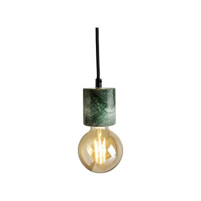 Hanglamp LED ø65x9 cm Marble groen