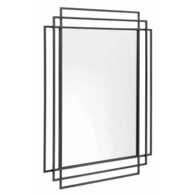 Vierkante Spiegel - Zwart