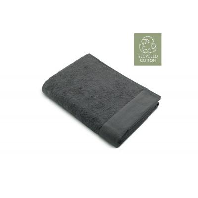 Badlaken Remade Cotton Antraciet - 70x140 cm