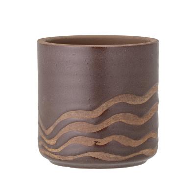 Haakon Deco bloempot bruin terracotta