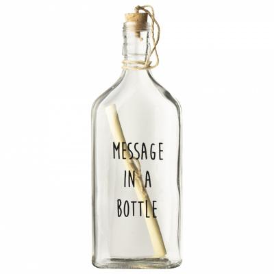 Flasche Post 'Nachricht'
