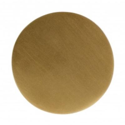 KOS haak / knop golden circle