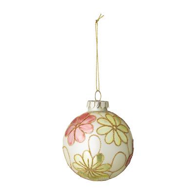 Xavia Ornament Multi-Color Glass