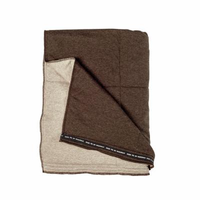 Plaid Soft Jersey Taupe / Zand - 130x180 cm
