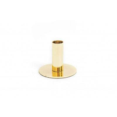 Gouden Kandelaar- 8x8x6,5cm