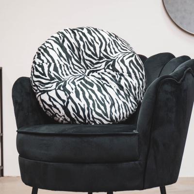 Runde Zebrakissen - Ø 55 cm