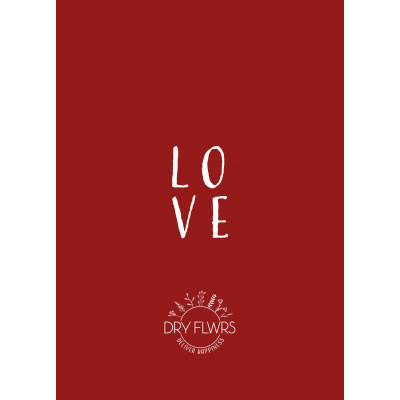 Wenskaart - LOVE
