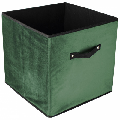 Faltbarer Aufbewahrungsbox grün