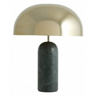 ATLAS tafellamp met groen marmer