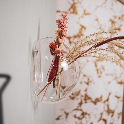 Muurvaas van Glas 18x12x18cm