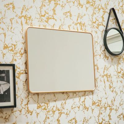 Rechthoekige Spiegel Goud - 60 x 80cm