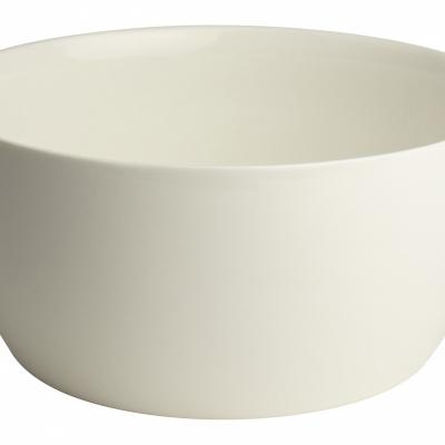 Schaal ø21x10cm Wit
