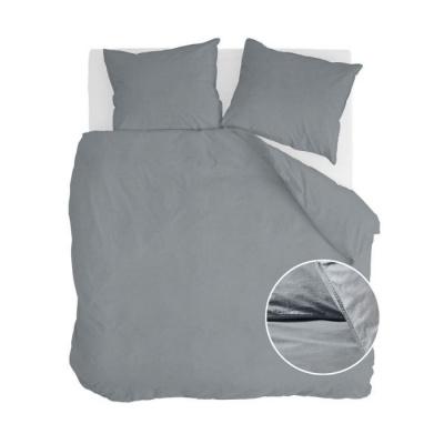 Dekbedovertrek Vintage Cotton Elephant Grey - 200x220 cm