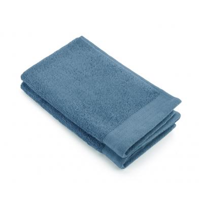 Gastendoek Soft Cotton (PP) Petrol - 2x 30x50 cm