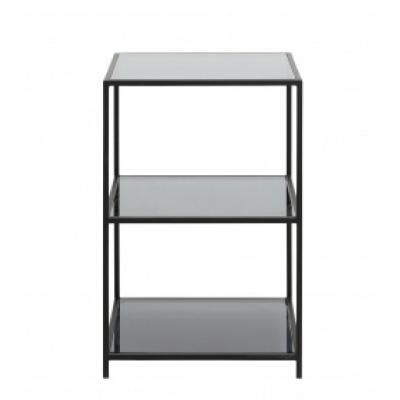 Orinoco Metalen Rek, S, 3 Legborden, Glazen