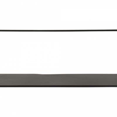 Wandregal 35x12 cm schwarz