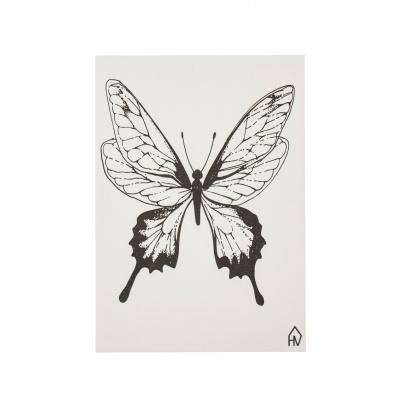 Ansichtkaart Vlinder-A6