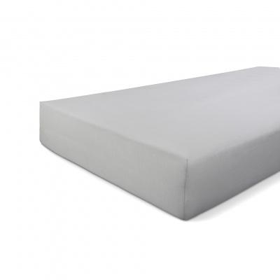 Hoeslaken Jersey Stretch Grijs - 90x220 cm