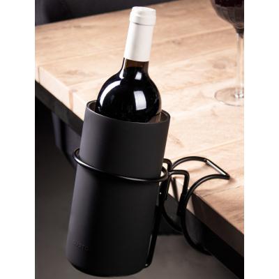 Wijnkoeler tafelklem zwart
