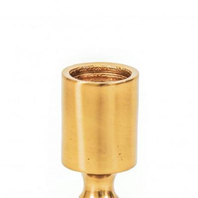 Bubbel Kandelaar Goud - M -6x6x20cm