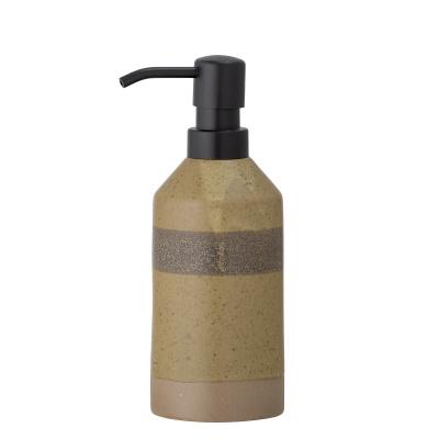 Solange Soap Dispenser Nature Steengoed