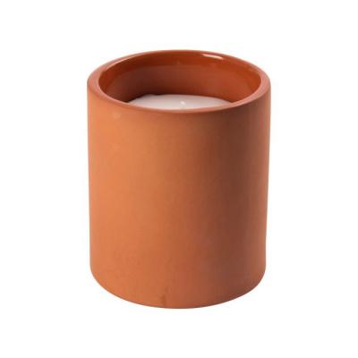 Kaars terracotta ø9x10cm