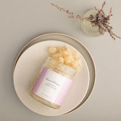 Lavendel suiker scrub