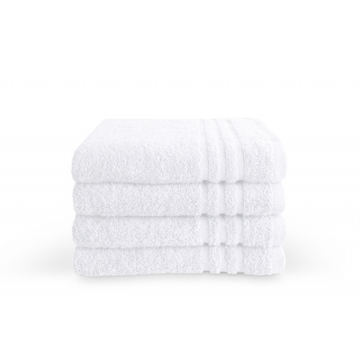 Badlaken Bath Basics Wit - 70x140 cm