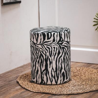 Pouf Zebra - 31x31x40 cm