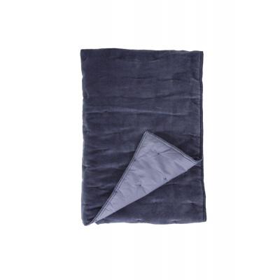 Plaid Velvet Touch Blauw - 130x180 cm