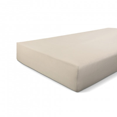 Hoeslaken Jersey Stretch Zand - 180x220 cm