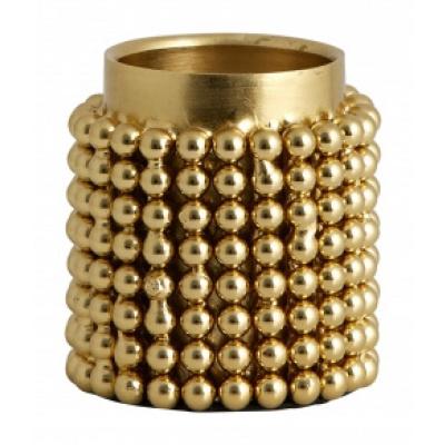 FOGO Waxinelichthouder gouden small