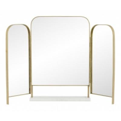 Otus Tischspiegel Goldener Rand