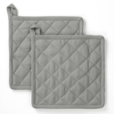 Pannenlap Stay Cold Grijs - 2x 20x20 cm