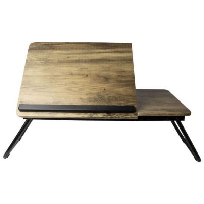 Laptoptafel hout 53x30x19cm