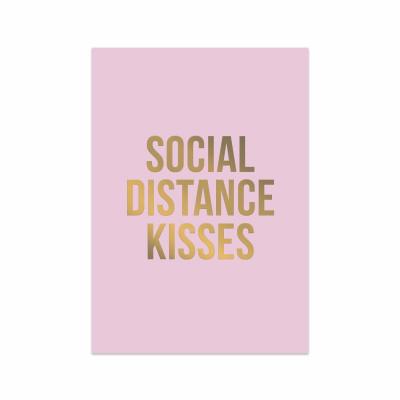 Wenskaart - Social Distance Kisses