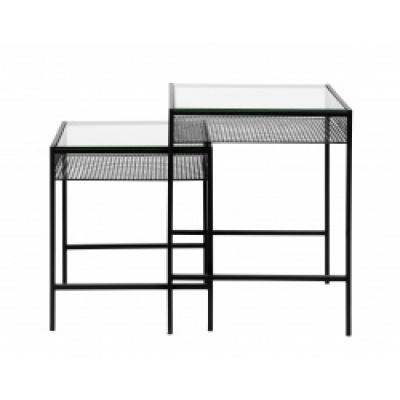Irona Tisch W. Hellglasplatte