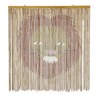 Leonel Wall Decor Brown Bamboo