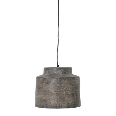 Grei hanglamp grijs metaal