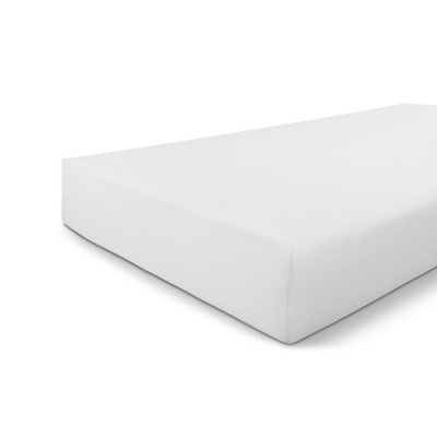 Einbaublech-Jersey Stretch White - 90x220 cm