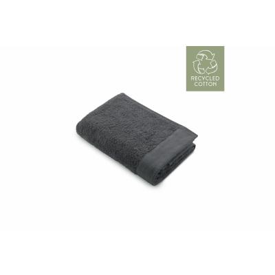 Bad Tuch Remade Baumwolle Anthrazit - 50x100 cm