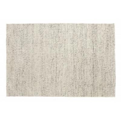 LARA tapijt wol ivoor / grijs